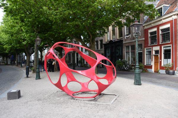 Nieuw kunstwerk op Schuttersveld